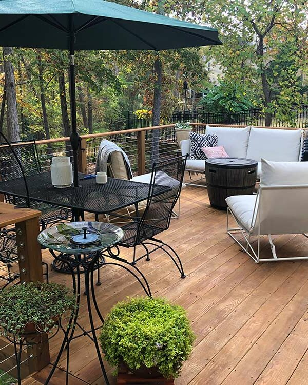 Cable Railing Deck Construction in Raleigh, NC